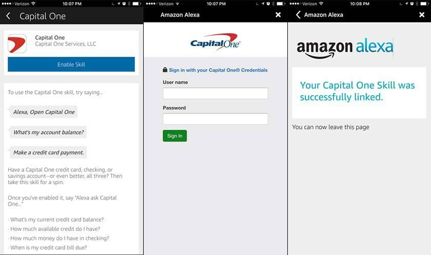 Check capital one credit card