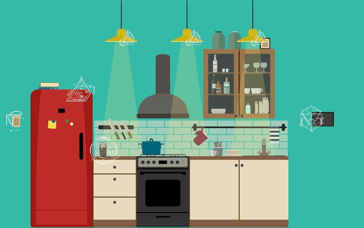 Connected Lifestyle Home AI kitchen