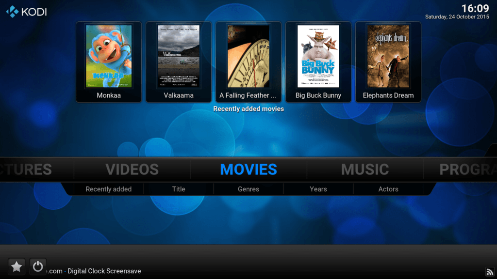 KODI is an amazing, powerful program that really synchronizes your media across your network