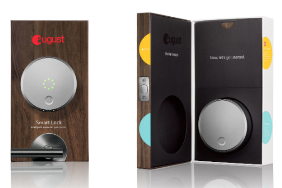 The August Smart Lock costs $250, while the Amazon Echo and the August Connect have a price tag of $180 and $50, respectively. Image Credit: August