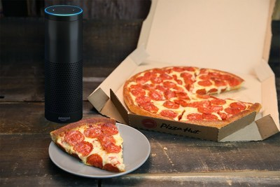 'Alexa, Ask Pizza Hut' For A Pizza, Please.'