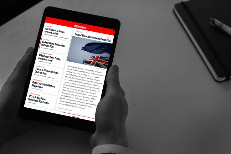 the daily beast brings cheat sheet news summaries to its mobile app