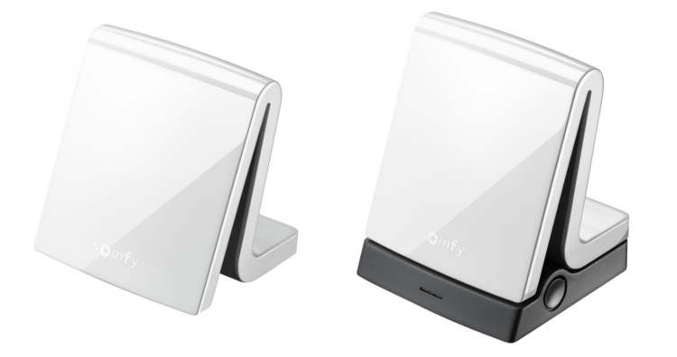 The TaHoma box, which manages the Somfy smart home network on sale now in Israel, is given an extra layer of security with a physical add on R) courtesy)