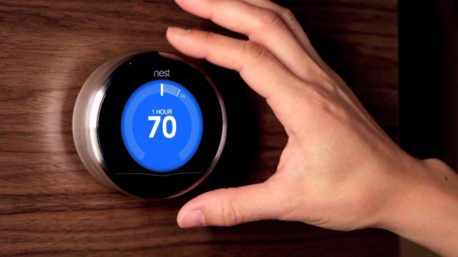 The Nest thermostat has proven to be an easy target for hackers. Photo courtesy of Nest.