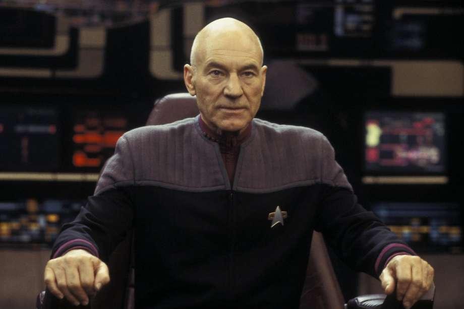 "Patrick Stewart as Captain Jean-Luc Picard in ""Star Trek: Nemesis"" Photo: PARAMOUNT PICTURES"
