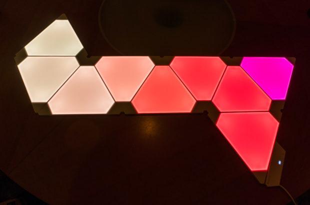 Review Nanoleaf Aurora Light Panels Padtronics