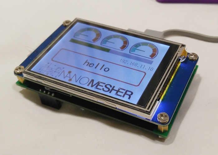 Internet Of Things Wireless Human Machine Interface