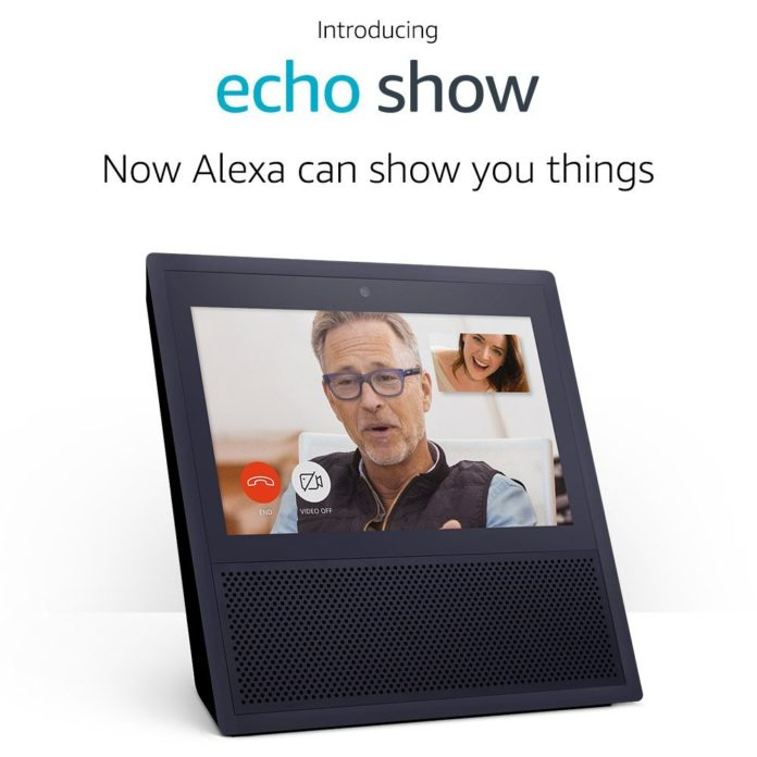 Echo Show Announcement image