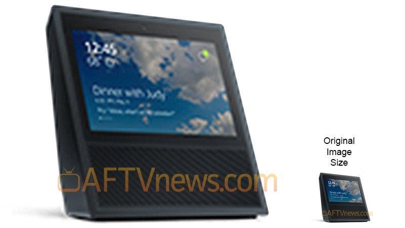 Amazon Alexa Touchscreen