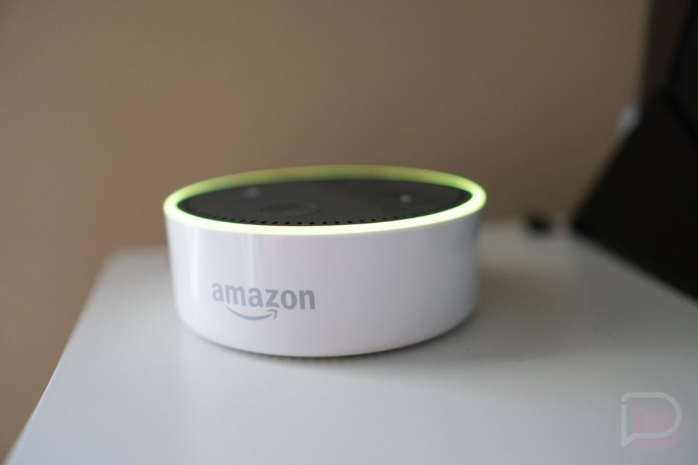 The Amazon Echo Dot Notification Ring