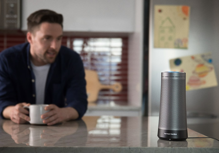 A picture of the Harman Kardon Invoke