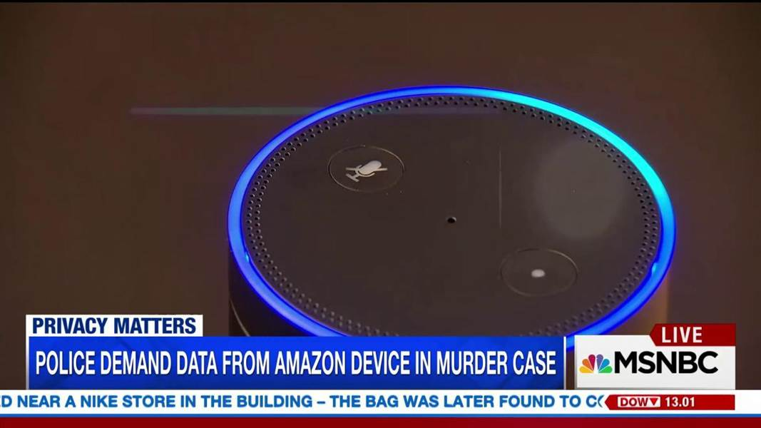 A screenshot of an MSNBC report on the case.