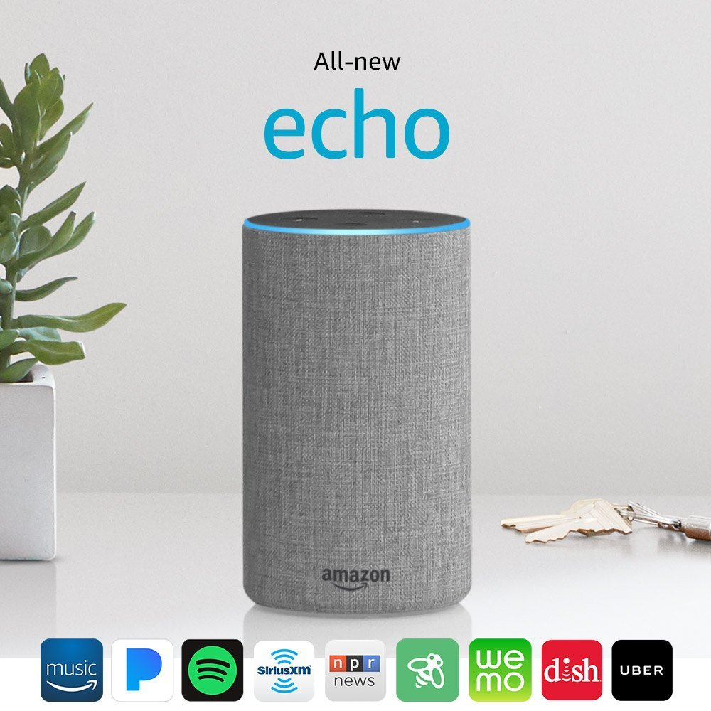 A promo image of the New Echo 2