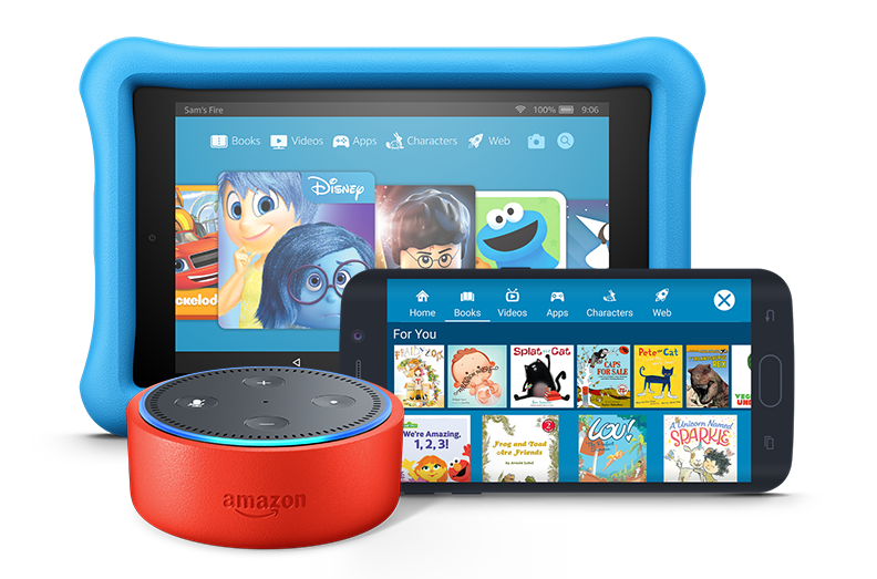 Amazon Echo Dot Kids Edition Kids Content