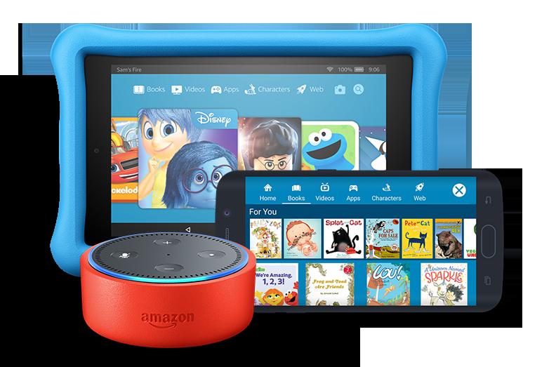 Amazon Echo Dot Kids Edition Kids Content