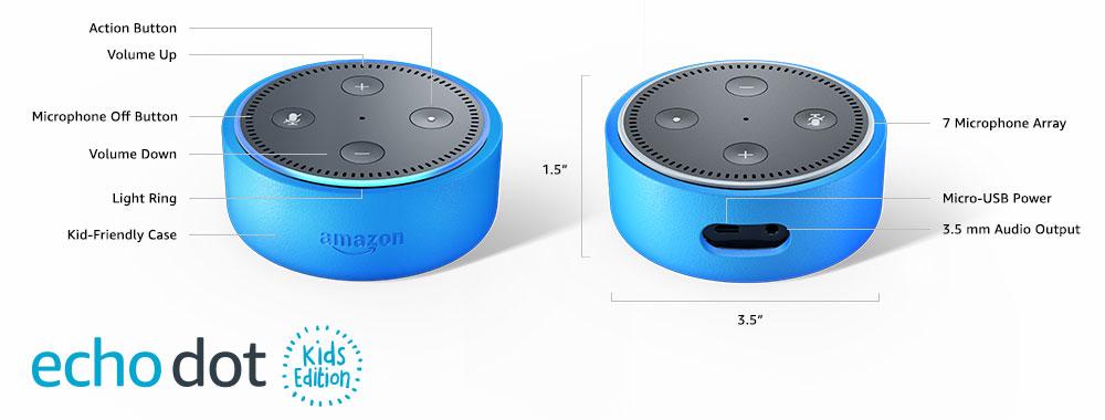Amazon Echo Dot Kids Edition Technical