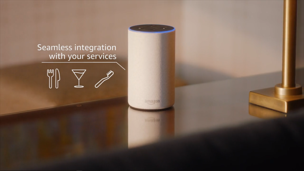 Alexa for Hospitality Integration