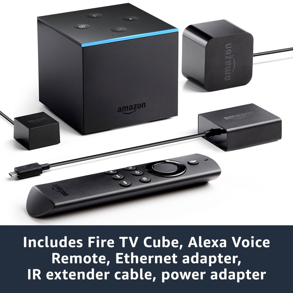 Fire TV Cube Amazon Alexa