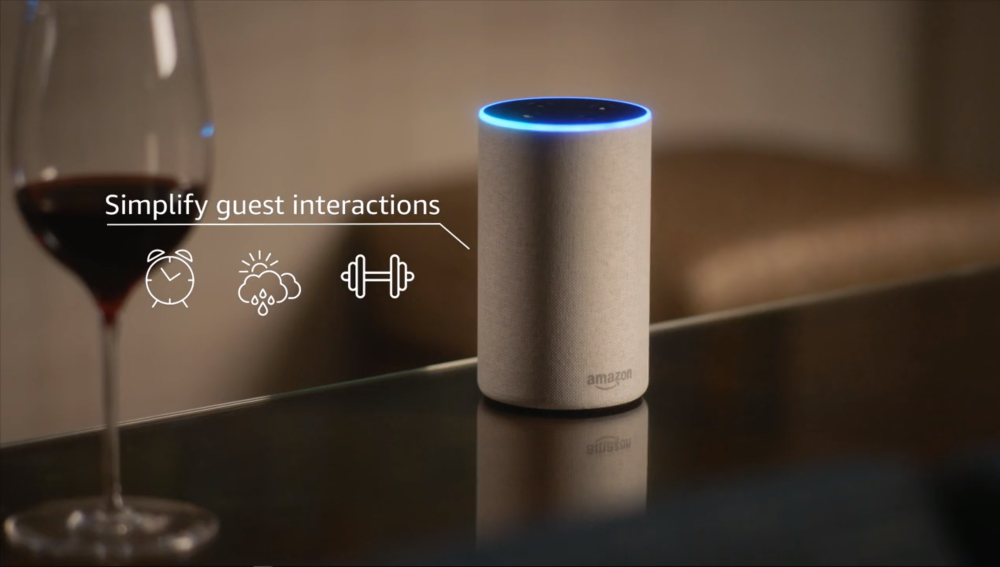 Guest Interactions with Alexa